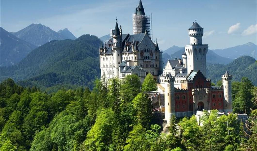 Castello di Neuschwanstein, in Germania.