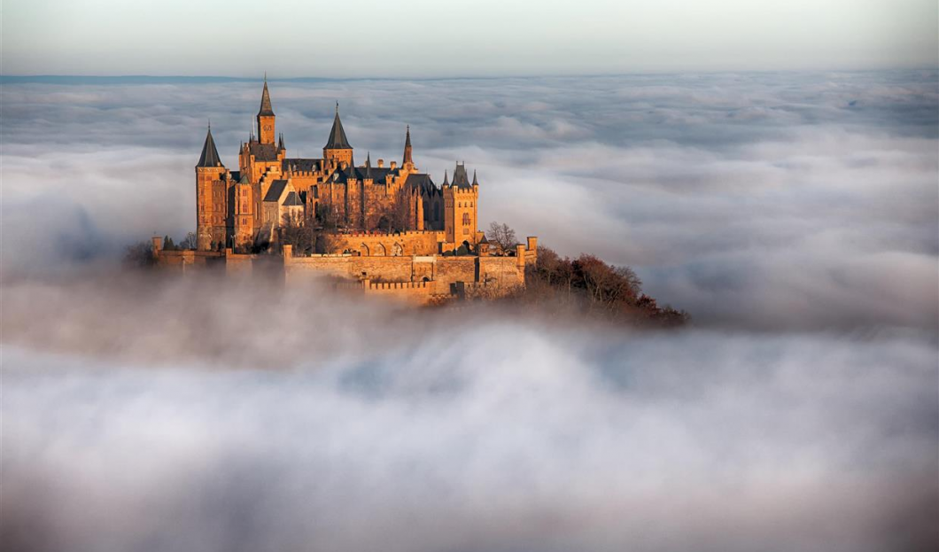 Castello di Hohenzollern, Germania.