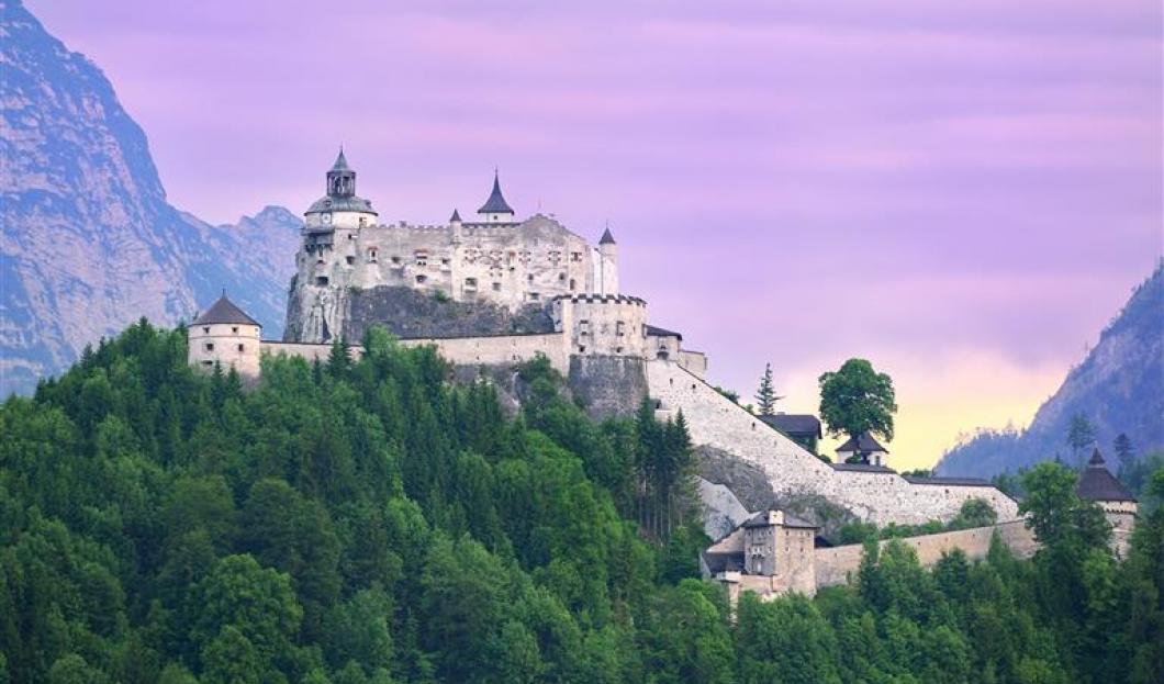 Castello Hohenwerfen, Austria.