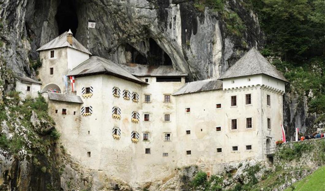 Castello di Predjama, Slovenia.
