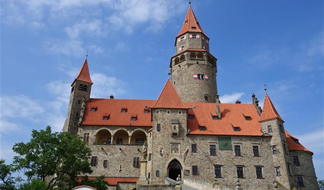 Castello Bouzov, Repubblica ceca.