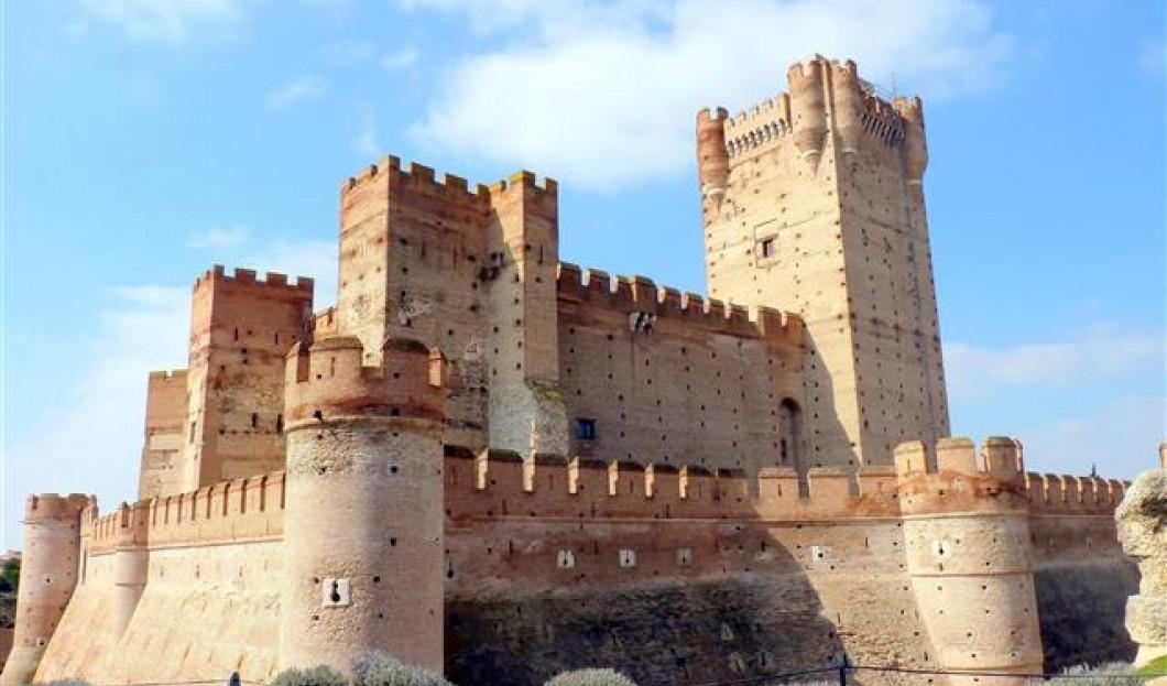 Castillo de la Mota, Spagna.