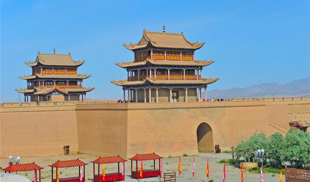 3 . Il Grande Muro di Jiayuguan