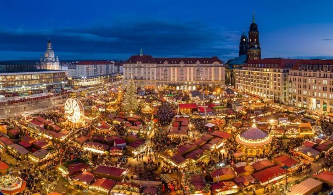 Lo Striezelmarkt di Dresda